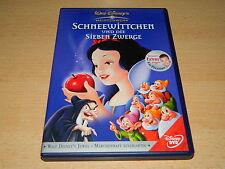 Walt Disney DVD - Schneewittchen und die sieben Zwerge - Z4 - top Zustand