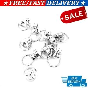 Silver Metal Studs Rivet Screw Leather Craft DIY Clothes Making Accessories Hot