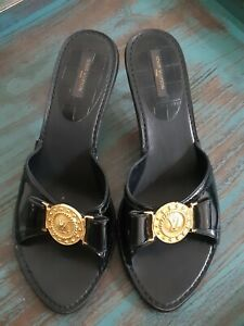 LOUIS VUITTON  LV Mules Clogs Shoes size 40 US 9,5