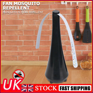 Fly Repellent Fan Outdoor Table Protect Food Insect Away Fan for Restaurant UK
