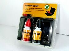 Stamp-Ever 2 color stamp pad and refill ink