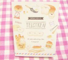 KAMIO JAPAN / Yeastken Bread Dog Mini Memo Pad /  Japanese  Stationery