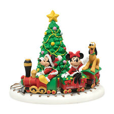 Dept 56 Disney Village Mickey's Holiday Express NIB Free Shipping