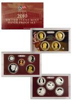 2010-S United States US Mint 14 pc Silver Proof Set SKU22296