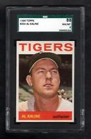 1964 TOPPS #250 AL KALINE HOF DETROIT TIGERS SGC 8 NM/MT++ CENTERED!