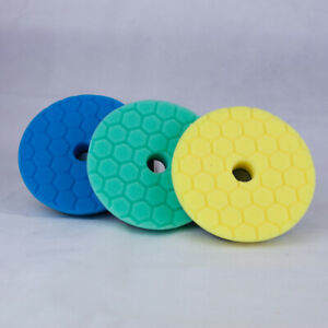 Chemical Guys 5 inch Hex Logic Quantum Pads Hard Paint Kit - Polishing Pads