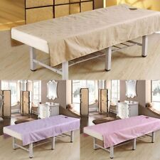 190x120cm 190x80cm Beauty Salon Massage Bed Sheet Table Coverlet With Hole