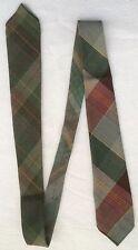 Mod/GoGo Wool Blend 1960s Vintage Ties