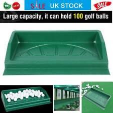 Durable Golf Ball Tray Golf Driving Range 100 Balls Trays Golfer Accessory Green