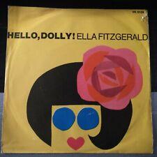Ella Fitzgerald – Hello, Dolly! 45 giri 1964  Italian Issue Record EX