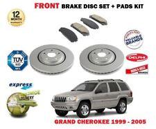 für Jeep Grand Cherokee WJ WG 1999-2005 neue Bremsscheiben SET VORNE+BREMKLÖTZE