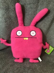 UglyDoll Pink with Yellow Teeth Wippy Plush Stuffed Animal Monster Bunny Doll