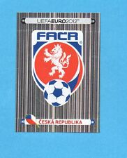 PANINI-EURO 2012-Figurina n.137- SCUDETTO/BADGE -REPUBBLICA CECA-NEW