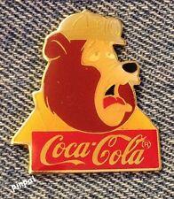 Disney Pin~Big Al~Bear Country~15th anniversary~WDW~1986~Coca Cola~Coke