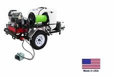 PRESSURE WASHER Jetter - Trailer Mounted  200 Gal - 12 GPM - 2800 PSI - 26 Hp CD