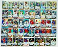 (50) Bowman Chrome 1st Autograph Rookie Refractor Prospect Auto RC Lot SP /499