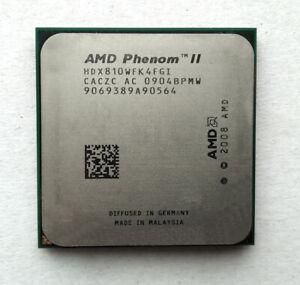 AMD Phenom II X4 810 Quad Core 2.6GHz 6M Cache Socket AM2+ AM3 HDX810WFK4FGI CPU