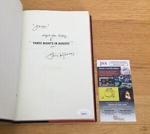 Tony LaRussa Cardinals MLB HOF Signed Autograph 3 Nights in August Book JSA COA
