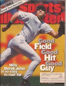 Sports Illustrated (Vol. 90 #25 June 21, 1999) Derek Jeter Knicks Sabres