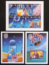 Nicaragua 1994. Scoot # 2054 - 2056. First Moon Landing, 25th Anniv (3 sheets)