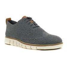 Cole Haan Zerogrand Stitchlite Oxford Shoes Ironstone Gray/Ivory C27692 $180.00