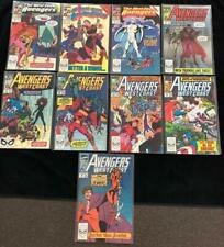 West Coast Avengers Lot Of 9 Comics - Range from #42-56 Marvel Comics Nm