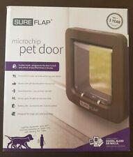 SureFlap Microchip Pet Door - Brown - NEW