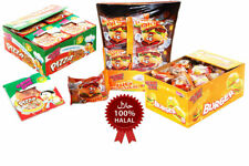 Halal Gummi Zone Pizza Mini / Big Burger Party Fillers Bag Sweets Candy Gift