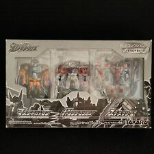 GALAXY FORCE - TV MAGAZINE CRYSTAL CONVOY MEGATRON STARSCREAM 3 PIECE SET MISB