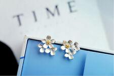 Ohrstecker Ohrring Blume Blümchen Blüte aus Sterling Silber 925