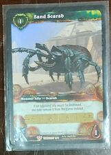 World of Warcraft TCG: Sand Scarab Loot Card *Unscratched*