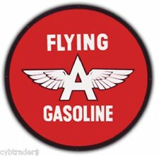 Flying A  Gas Sign Refrigerator / Tool Box  Magnet