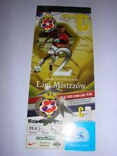 used ticket WISLA Krakow - OMONIA Nicosia 30.07.2003