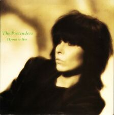 "PRETENDERS hymn to her/room full of mirrors YZ 93 uk wea 1986 7"" PS EX/EX"