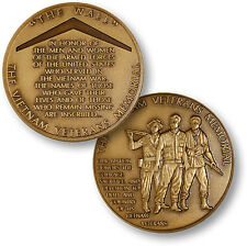 "Vietnam War Veterans Memorial Challenge Coin ""The Wall"" Mall Washington DC Names"