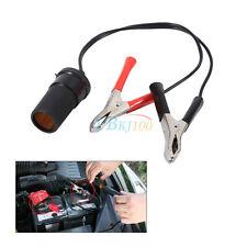 Cigarette lighter socket pour batterie voiture pompe pince crocodile câble de chargeur 12V