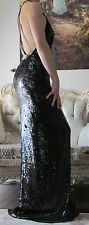 STELLA McCARTNEY Red Carpet,Runway Fully Sequinned Long dress It 42,US 6-8,S-M