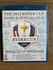 Ryder Cup 2012 Diary and Official Film [Blu-ray]  VGC