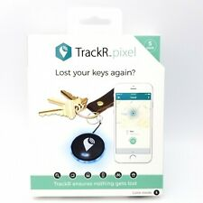 Bluetooth Tracking Device Wallet Locator Phone Finder TrackR Pixel Key Tracker 5 Pack Black