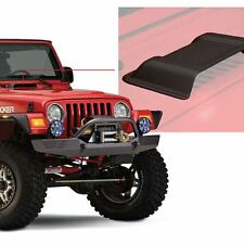 "Bushwacker - Trail Armor Black ABS Plastic Custom Hood Scoop 1 Pc 7""x16""x8"""
