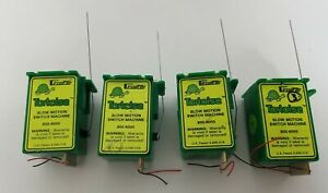 CIRCUITRON TORTOISE Slow Motion Switch Machine 800-6000 lot of 4, used