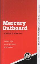 New listing 2012 Mercury Outboard 225/250/250-300 Pro/300 Verado Operation Maintenance (515)