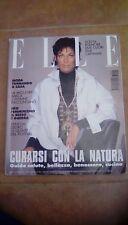 Elle Magazine Italy September 1993 with Carmen Schwarz on cover