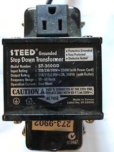 Steed Step Down Transformer - 250 Watts