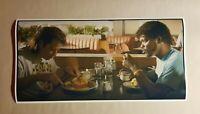 "Pulp Fiction Movie Poster 12"" X 24"" Wide Screen Print Restaurant Diner Breakfast"
