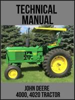 John Deere 3020 Tractor Technical Manual TM1005 On USB Drive
