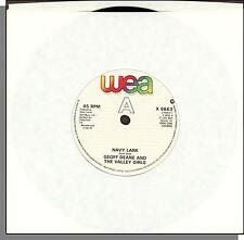 """Geoff Deane and The Valley Girls - Navy Lark + Red Hot Polka - 7"""" UK Single!"""