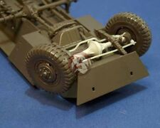 """Resicast 1/35 """"Workable"""" Front Axle & Steering for M8 / M20 (for Tamiya) 352239"""