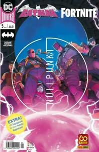 Vorbestellung Batman / Fortnite Heft 5 Panini + Code Lieferung ab 22.6.2021