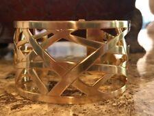 BRIGHTON CHRISTO Maritzburg Gold Wide CUFF Bracelet